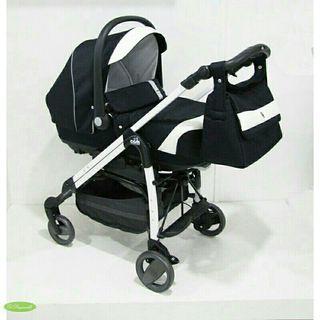 Carrito bebé capazo+silla+silla auto+bolso