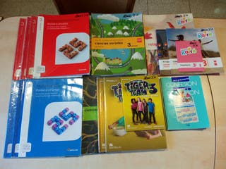 Libros de texto tercero 3° de primaria