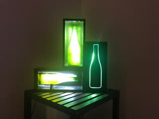 Expositor con Led alhambra