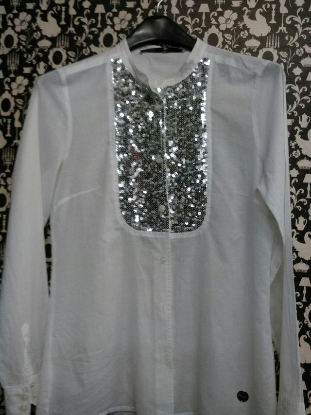 camisa blanca sin estrenar