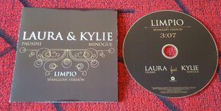 KYLIE MINOGUE & LAURA PAUSINI Limpio CD PROMO