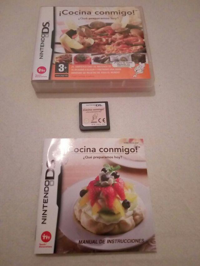 Videojuego para Nintendo DS: Cocina conmigo