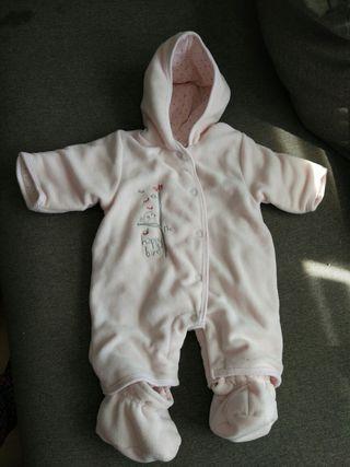 mameluco para bebé de 1 mes