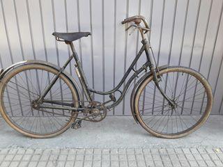 Bicicleta frenos de varillas
