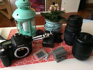 Cámara réflex: Nikon D90