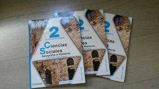 Libros de texto 2 ESO Ciencias Sociales