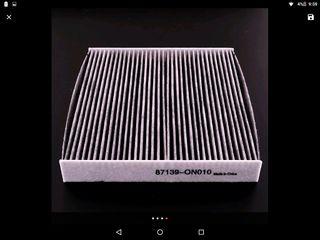 Filtro habitáculo carbón Toyota Tundra Yaris