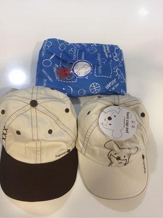 Pack 2 gorras infantiles Imaginarium nuevas