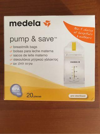 Bolsas Medela para leche materna