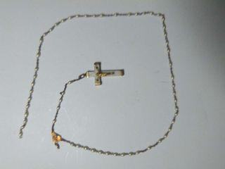 Rosario con crucifico