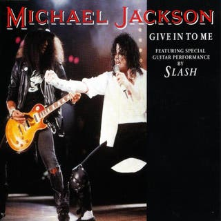 Michael Jackson y Slash-Give in to me (1993)