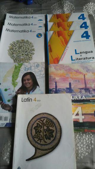 Libros 4° ESO