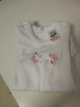 pijama bebé talla 0-1 mes