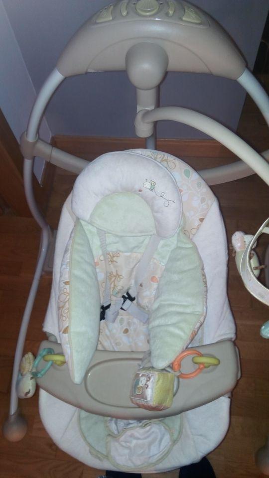 Hamaca-Columpio-balancin para bebé Bright-Stars