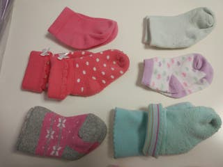 lote 10 pares calcetines bebé
