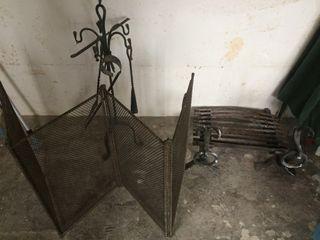Instrumentos antiguos para chimenea