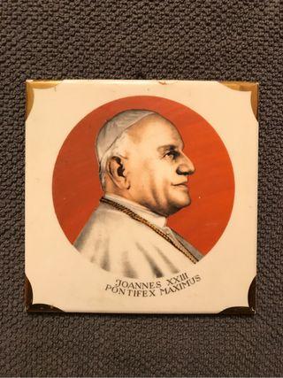 Azulejo Conmemorativo JUAN XXIII, (h.1980?)