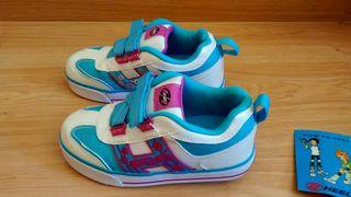 Zapatillas con ruedas Heelys niña T32