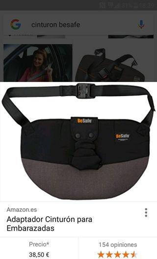BeSafe cinturón embarazada coche