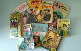 Lote de 9 Novelas/Libros Antiguas