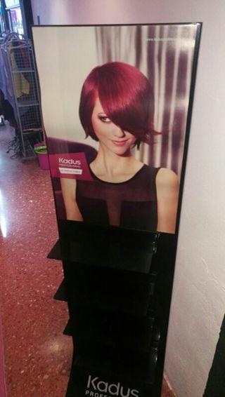 expositor peluquería