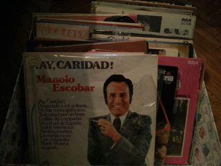 lote discos antiguos