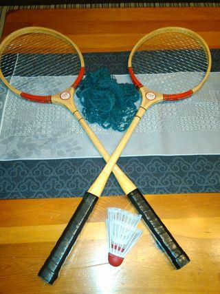 Raquetas Badminton Vintage Pionner Nueva