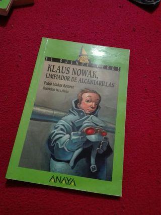 libro klaus nowak limpiador de alcantarillas