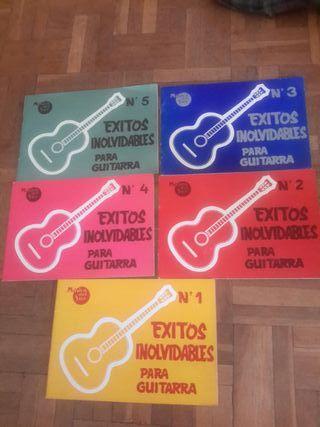 exitos inolvidables para guitarra