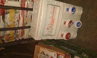 Caja de interruptores y diferenciales