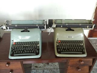 Máquinas de escribir Olivetti