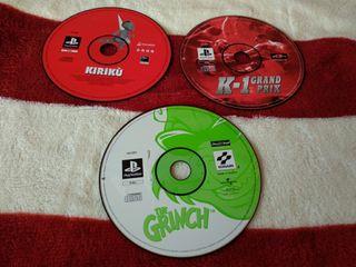 Videojuego PS1 y PS2
