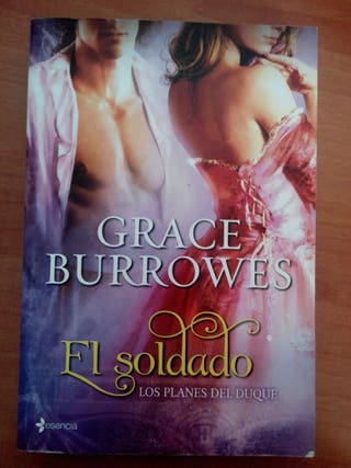 libro romantico ,Grace Burrowers, el soldado