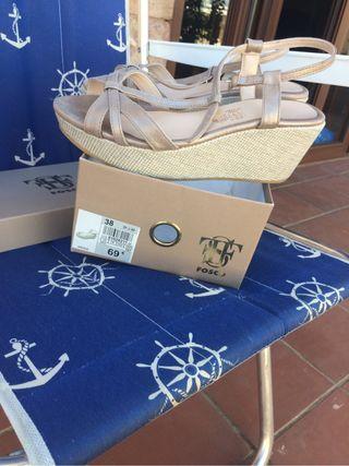 Sandalias de plataforma FOSCO
