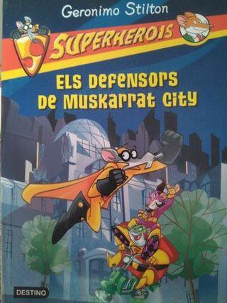 Superherois: Els defensors de Muskarrat city