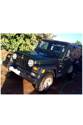 Jeep Wrangler 2.5 sport soft top
