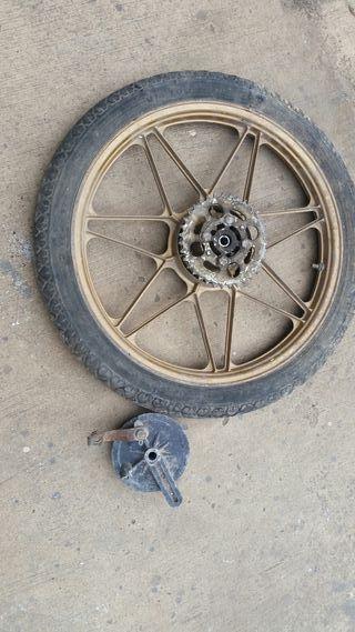rueda trasera derbi variant