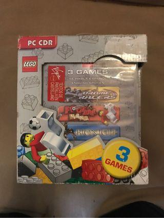 Figura Bionicle 8739 LEGO Y 3 Juegos PC LEGO