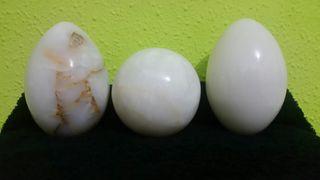 Huevos de marmol