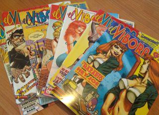 Comics para adultos del Vibora