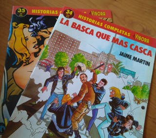 Comics para adultos. Historias completas. Vibora