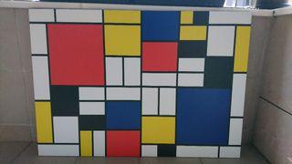 Cuadro Piet Mondrian