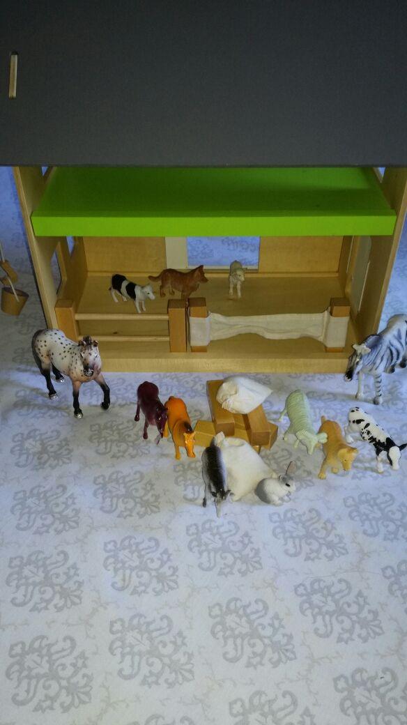 granja animales imaginariun