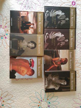 Colección de libros de Isabel Allende
