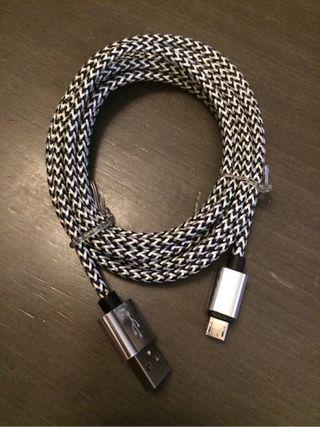 Cable usb a micro usb 2m. Nuevo