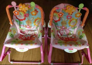 Hamacas Fisher Price. 2unidades 30€!!