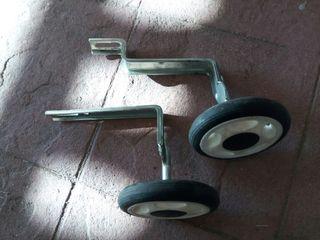 ruedines bicicleta
