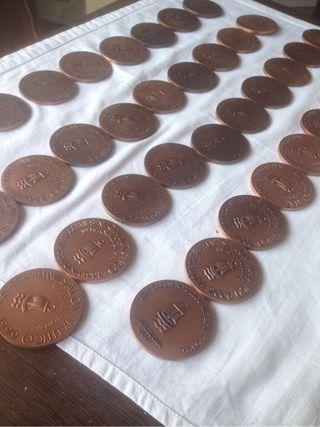 Monedas Náuticas de bronce