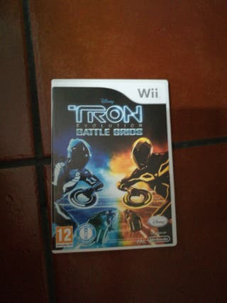Juego wii tron