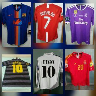 Camisetas fútbol retro de segunda mano en la provincia de Barcelona ... ad217dd2e64d7